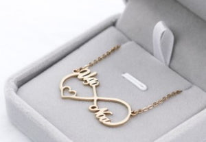 8 word pendant clavicle chain