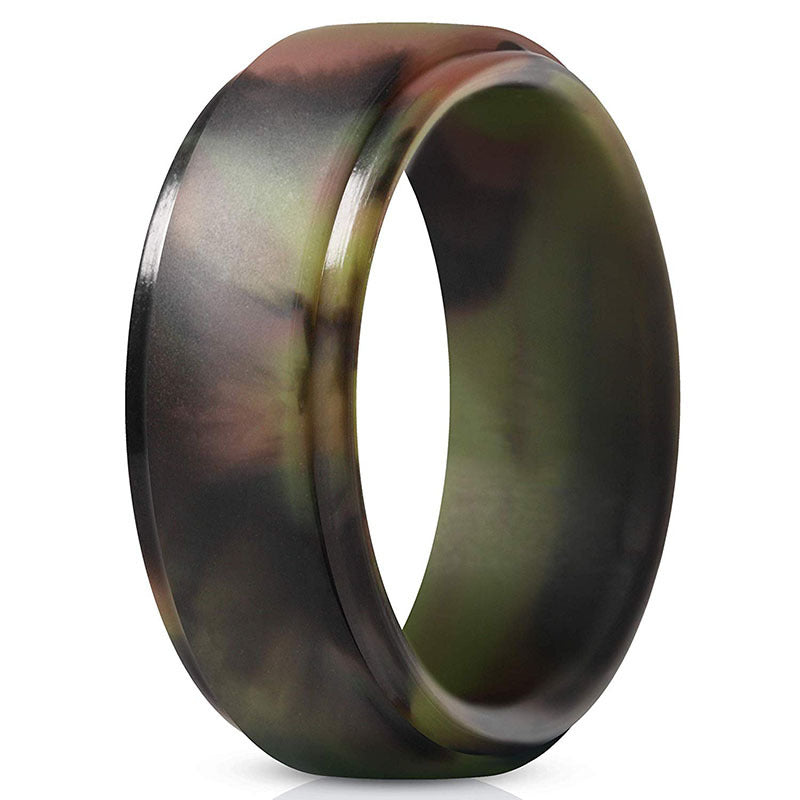 8.0 new curved step silicone ring