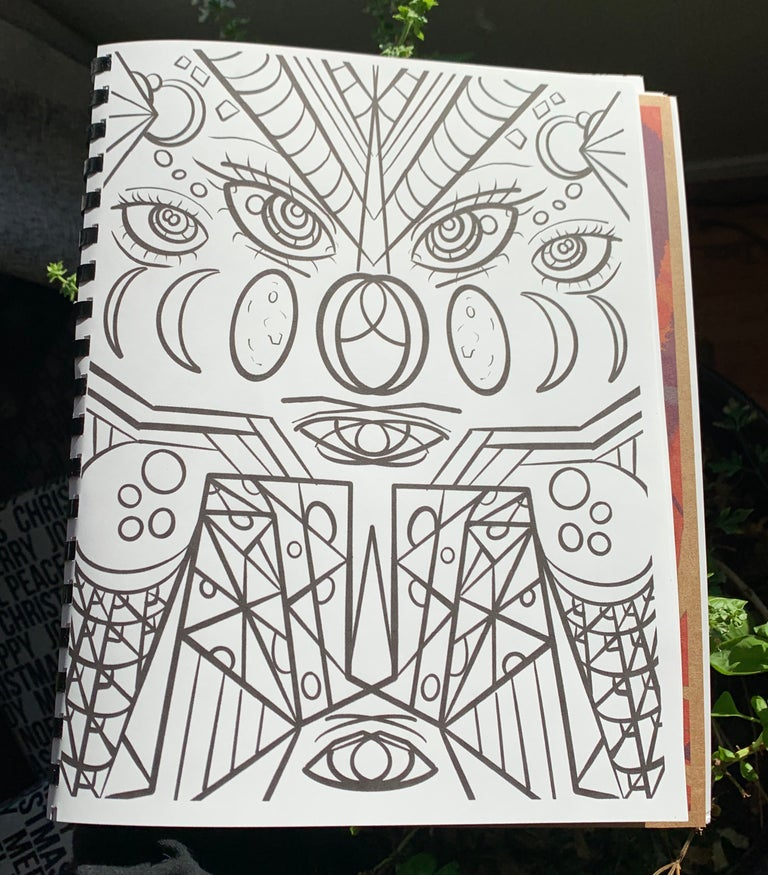 The Book of Moonjuice (Coloring Book)