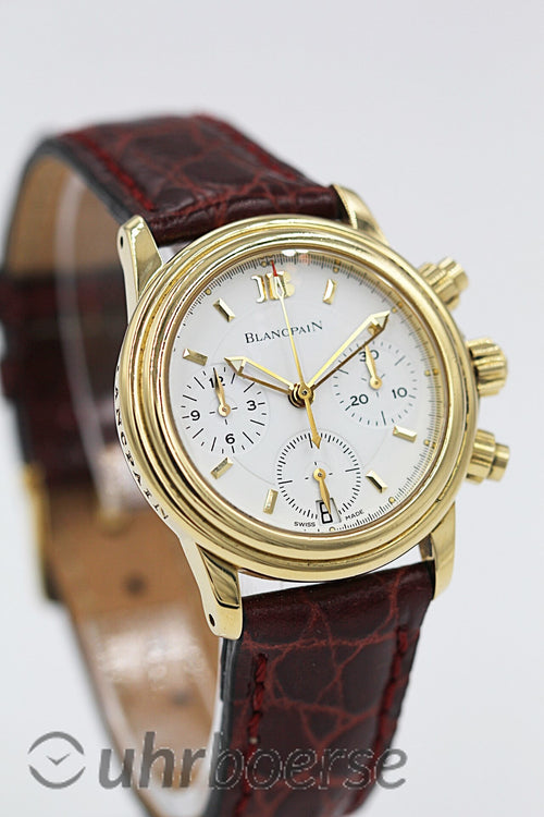 BLANCPAIN<br>Villeret Chronograph Gelbgold