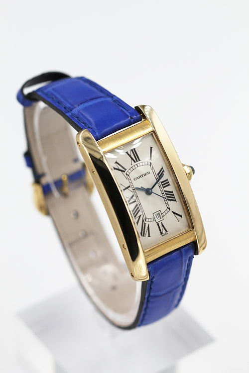 "CARTIER<br>Tank Americaine Gelbgold ""Grand Taille"""