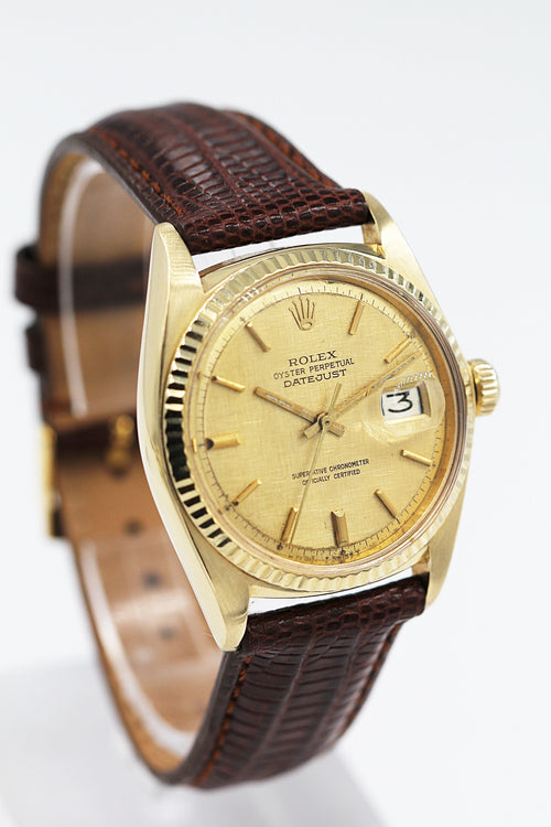 ROLEX<br>Oyster Perpetual Datejust Gelbgold
