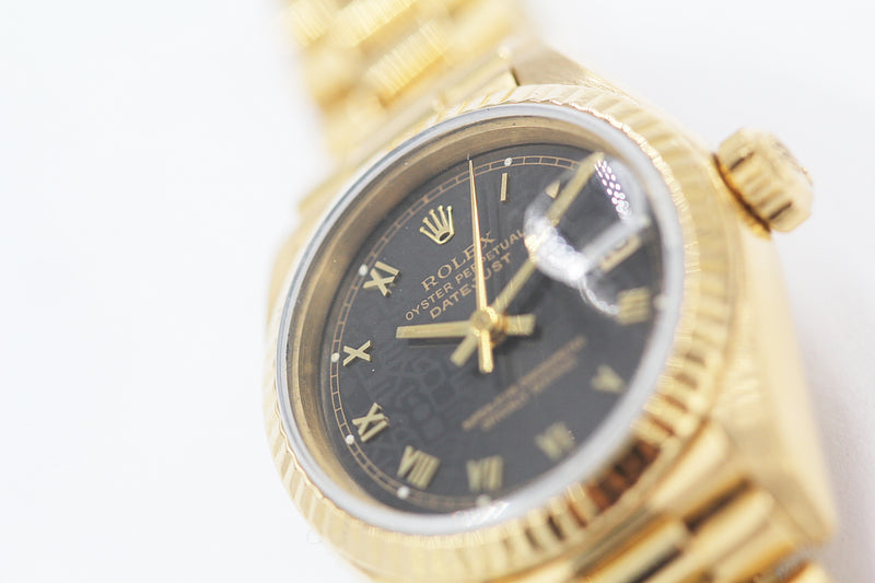 ROLEX<br>Oyster Perpetual Lady Datejust Gelbgold