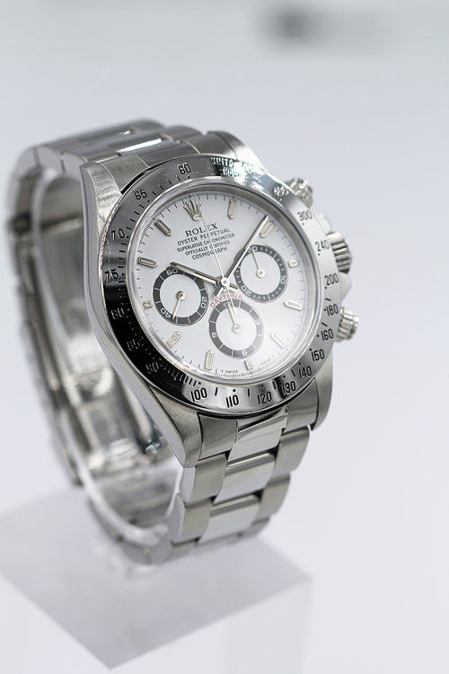 "ROLEX<br>Oyster Perpetual Cosmograph Daytona Edelstahl ""Zenith"""