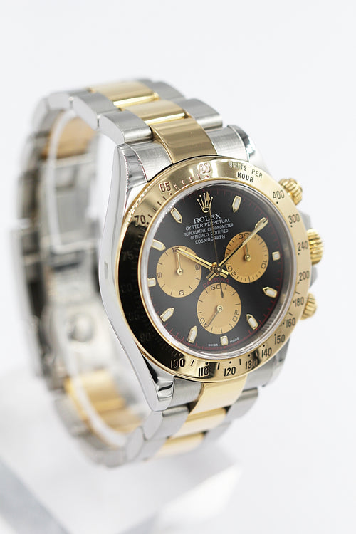 ROLEX<br>Oyster Perpetual Cosmograph Daytona Stahl/Gold