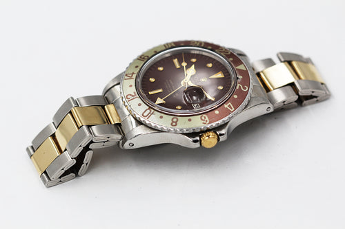 "ROLEX<br>Oyster Perpetual GMT-Master ""Rootbeer"""