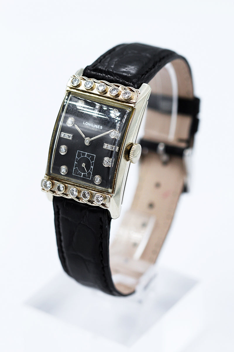 LONGINES<br>Original Art Deco Damen-Cocktailuhr
