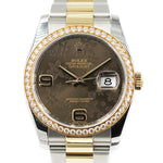 "ROLEX <br> Datejust 36 Brillanten ""Flower-Dial"""