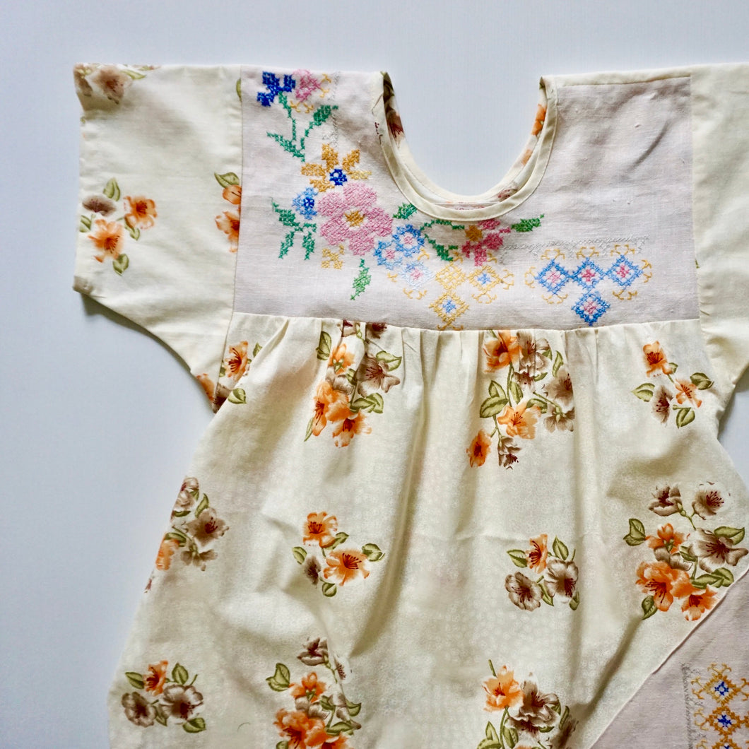 Size Small Even More Flowers Smock Dress