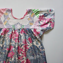Load image into Gallery viewer, Size Medium All The Flowers Smock Dress