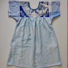 Load image into Gallery viewer, Size Medium Baby Blue Smock Dress
