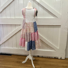 Load image into Gallery viewer, Patchwork Twirl Dress