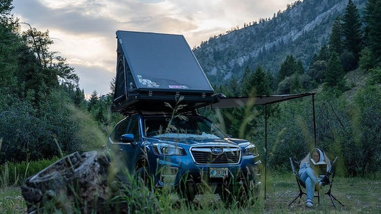 Roof Top Tent on Subaru Forester by Chris Hailie