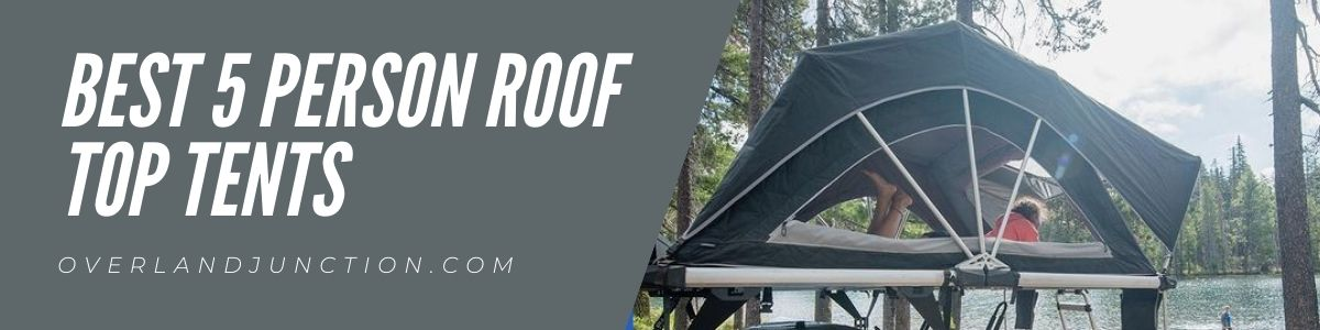 best 5 person roof top tents