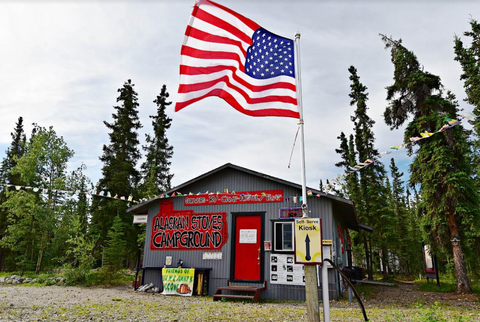 Alaskan Stoves Campground Lifestyle Image