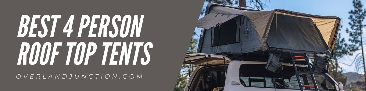 Best 4 person roof top tents