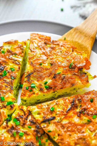 Cabbage Pancake Recipe Image