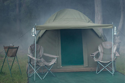 Alpha Kilo Family Tent for Windy Conditions