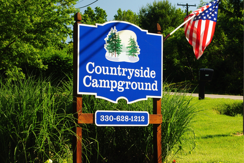 Countryside Campground Lifestyle Image