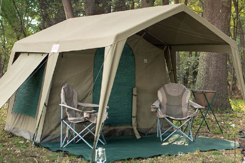 Delta Zulu Family Tent For Windy Conditions