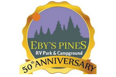 Eby's Pines Campground Logo