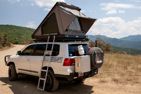 Eezi-Awn Blade Hard Shell Roof Top Tent Lifestyle Image