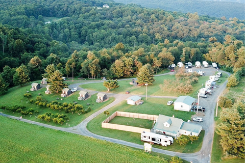 Fancy Gap Cabins & Campground Lifestyle Image