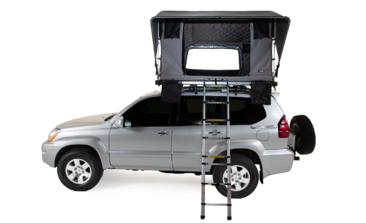 fsr adventure gs roof top tent side angle image