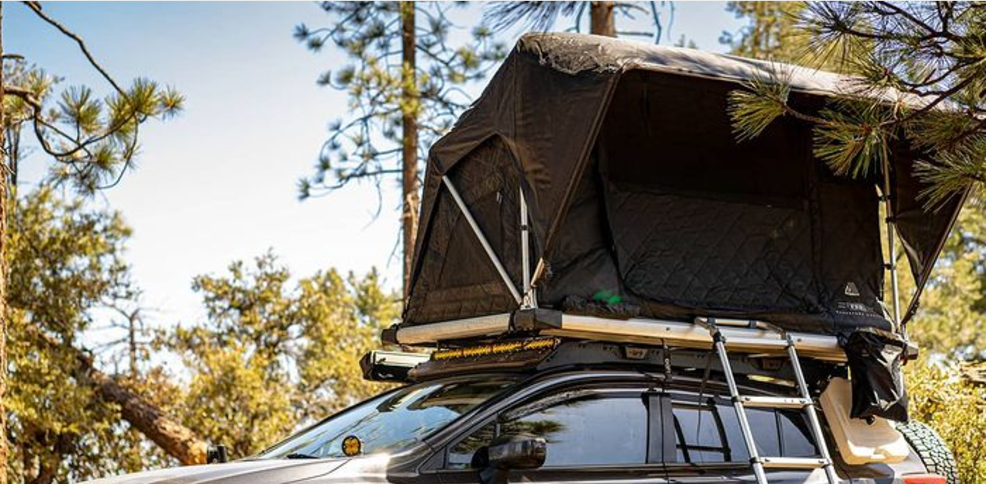 FSR Adventure Manual 55 Roof Top Tent Lifestyle Image