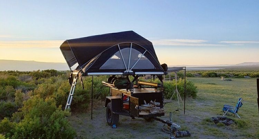fsr high country 80 roof top tent lifestyle image