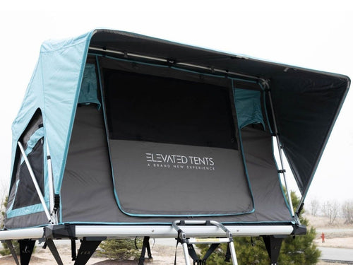 Adventure Manual 2 Person Roof Top Tent for Small Cars and Sedans