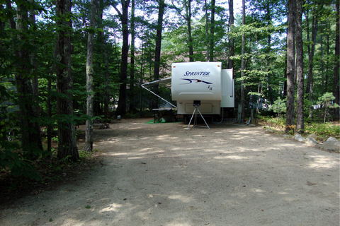 Harbor Hill Camping Area Lifestyle Image