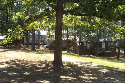 Lake Hartwelll Camping and Cabins Lifestyle Image