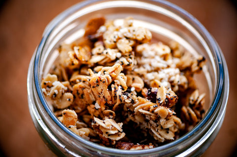 Lemon Poppy Seed Granola Recipe Image