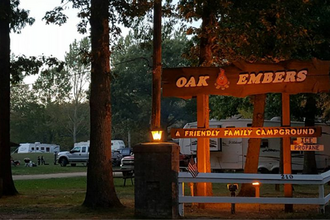 Oak Embers Campground Lifestyle Image