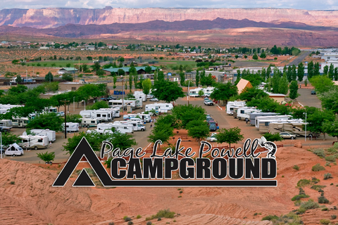 Page Lake Powell Campground Lifestyle Image
