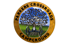 Parkers Crossroads RV Park and Campground Logo
