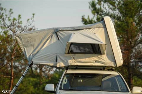 Pitman Outdoors Hard Shell Roof Top Tent Product Image