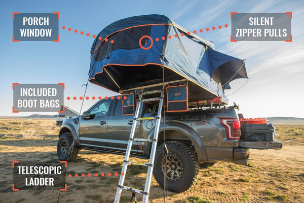 Rooftop tent features 1