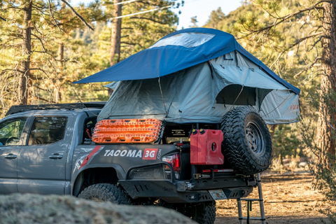 Vagabond Roof Top Tent for FJ Cruiser
