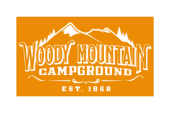 Woody Mountain Campground Logo
