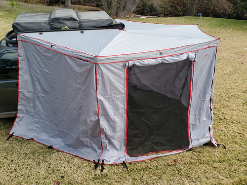 Overland Pros Wraptor 4k Awning with Walls