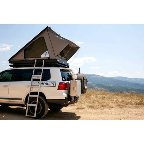 Eezi-Awn Blade Hard Shell Roof Top Tent For Sale On Car Lifestyle Image