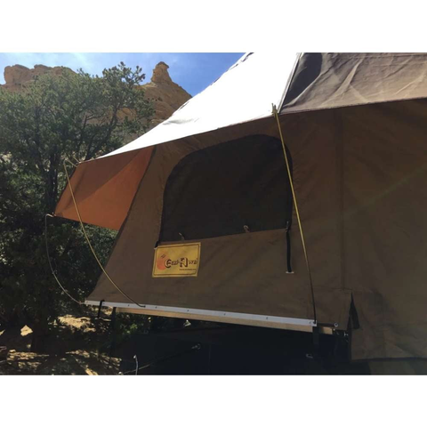 Eezi-Awn Roof Top Tent for Trailer  Top Side Image