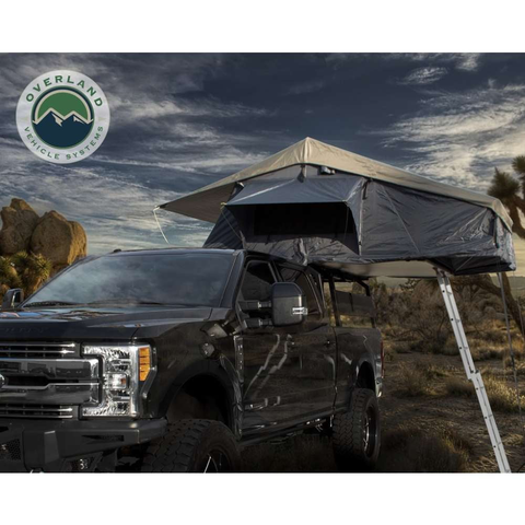 Image of Overland Vehicle Systems Nomadic 4 Extended Roof Top Tent - [product_type] - Overland Vehicle Systems - Family Tents World