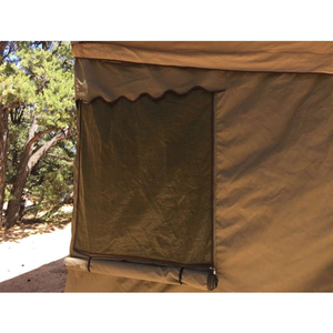 Eezi-Awn Roof Top Tent for Trailer  Closeup Add-on Room Window Image
