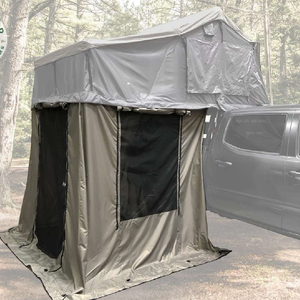 Overland Vehicle Systems Nomadic 2 Extended Roof Top Tent With Annex