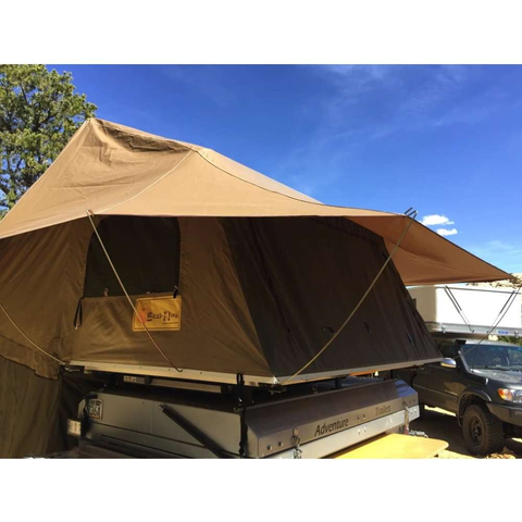 Eezi-Awn Glove Tracker Roof Top Tent Back Angle Image