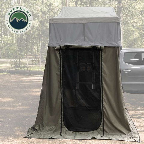 Image of Overland Vehicle Systems Nomadic 2 Extended Roof Top Tent With Annex