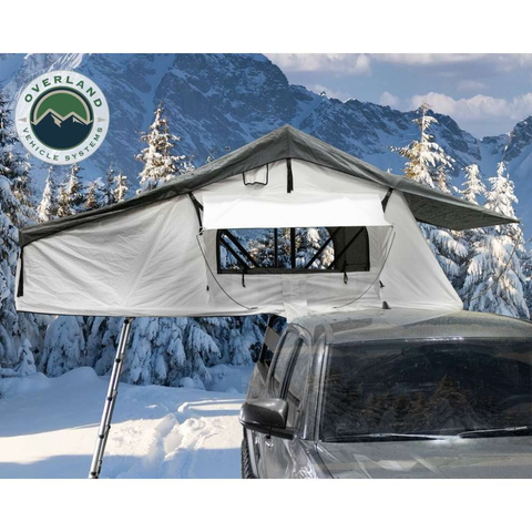 Overland Vehicle Systems Nomadic 3 Extended Roof Top Tent With Annex